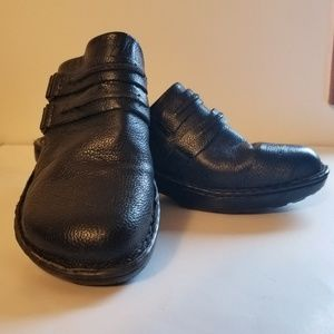Boc Born Womens Black Slip Ons Sz 10 M Shoes